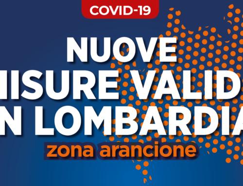 Lombardia: zona arancione